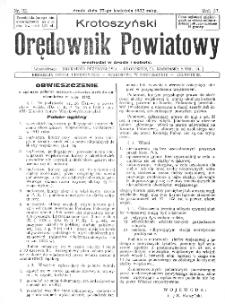 Krotoszyński Orędownik Powiatowy 1932.04.27 R.57 Nr32