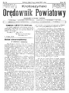 Krotoszyński Orędownik Powiatowy 1932.05.14 R.57 Nr36