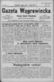 Gazeta Wągrowiecka: pismo ziemi pałuckiej 1937.12.04 R.17 Nr279