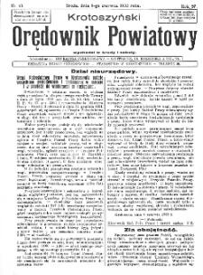 Krotoszyński Orędownik Powiatowy 1932.06.04 R.57 Nr42