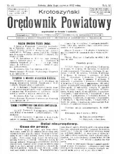 Krotoszyński Orędownik Powiatowy 1932.06.11 R.57 Nr44