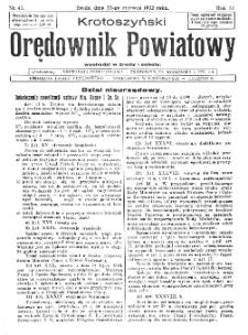 Krotoszyński Orędownik Powiatowy 1932.06.22 R.57 Nr47
