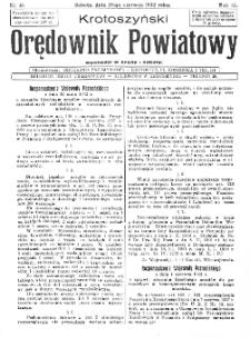 Krotoszyński Orędownik Powiatowy 1932.06.25 R.57 Nr48