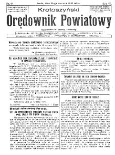 Krotoszyński Orędownik Powiatowy 1932.06.29 R.57 Nr49