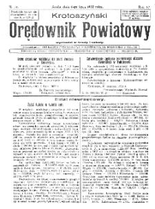 Krotoszyński Orędownik Powiatowy 1932.07.06 R.57 Nr51