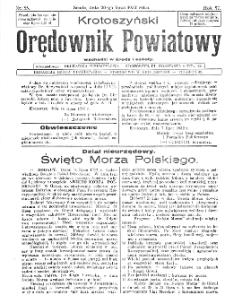Krotoszyński Orędownik Powiatowy 1932.07.20 R.57 Nr55