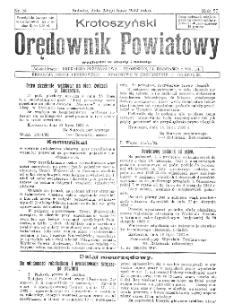 Krotoszyński Orędownik Powiatowy 1932.07.23 R.57 Nr56
