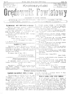 Krotoszyński Orędownik Powiatowy 1932.07.27 R.57 Nr57