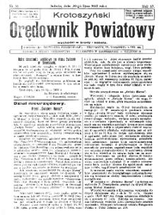 Krotoszyński Orędownik Powiatowy 1932.07.30 R.57 Nr58