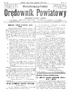 Krotoszyński Orędownik Powiatowy 1932.08.27 R.57 Nr66