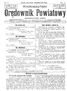 Krotoszyński Orędownik Powiatowy 1932.09.17 R.57 Nr72