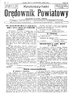Krotoszyński Orędownik Powiatowy 1932.10.05 R.57 Nr77