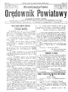 Krotoszyński Orędownik Powiatowy 1932.10.12 R.57 Nr79
