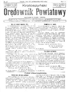 Krotoszyński Orędownik Powiatowy 1932.10.12 R.57 Nr82