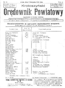 Krotoszyński Orędownik Powiatowy 1932.11.09 R.57 Nr86