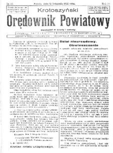 Krotoszyński Orędownik Powiatowy 1932.11.12 R.57 Nr87