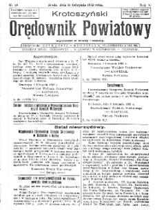 Krotoszyński Orędownik Powiatowy 1932.11.16 R.57 Nr88