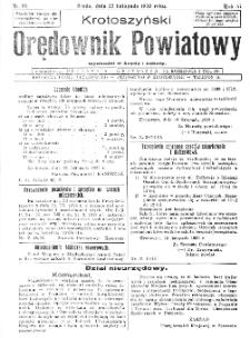 Krotoszyński Orędownik Powiatowy 1932.11.22 R.57 Nr90