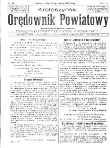 Krotoszyński Orędownik Powiatowy 1932.11.26 R.57 Nr91