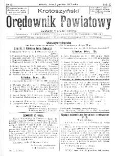 Krotoszyński Orędownik Powiatowy 1932.12.03 R.57 Nr93