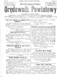 Krotoszyński Orędownik Powiatowy 1932.12.17 R.57 Nr97