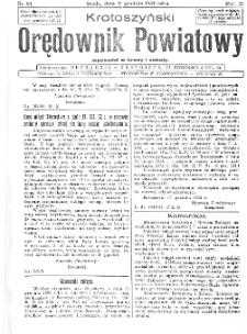 Krotoszyński Orędownik Powiatowy 1932.12.21 R.57 Nr98