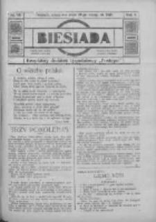 """Biesiada: bezpłatny dodatek tygodniowy """"Postępu"""" 1916.11.19 R.4 Nr46"""