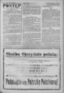 Postęp: narodowe pismo katolicko-ludowe niezależne pod każdym względem 1919.02.08 R.30 Nr32
