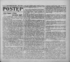 Postęp: narodowe pismo katolicko-ludowe niezależne pod każdym względem 1919.02.21 R.30 Nr43