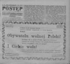 Postęp: narodowe pismo katolicko-ludowe niezależne pod każdym względem 1919.02.25 R.30 Nr46