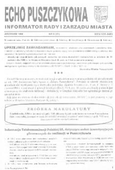 Echo Puszczykowa 1996 Nr6(61)