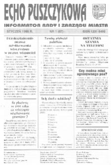 Echo Puszczykowa 1999 Nr1(87)