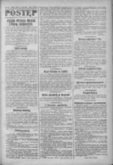 Postęp: narodowe pismo katolicko-ludowe niezależne pod każdym względem 1919.03.15 R.30 Nr62