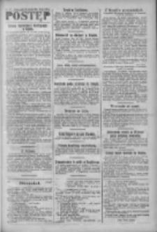 Postęp: narodowe pismo katolicko-ludowe niezależne pod każdym względem 1919.04.11 R.30 Nr85