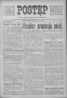Postęp: narodowe pismo katolicko-ludowe niezależne pod każdym względem 1919.06.05 R.30 Nr128