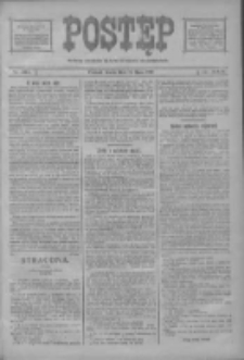 Postęp: narodowe pismo katolicko-ludowe niezależne pod każdym względem 1919.07.16 R.30 Nr161