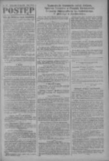 Postęp: narodowe pismo katolicko-ludowe niezależne pod każdym względem 1919.07.25 R.30 Nr169