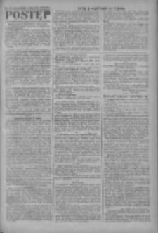 Postęp: narodowe pismo katolicko-ludowe niezależne pod każdym względem 1919.08.03 R.30 Nr177