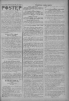 Postęp: narodowe pismo katolicko-ludowe niezależne pod każdym względem 1919.08.14 R.30 Nr186