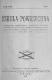 Szkoła Powszechna. 1927 R.8 z.1