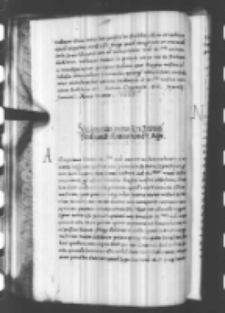 Sigismundus primus rex Poloniae Ferdinando Romanorum regi, [Kraków, listopad 1536?]