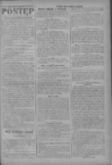 Postęp: narodowe pismo katolicko-ludowe niezależne pod każdym względem 1919.08.26 R.30 Nr195