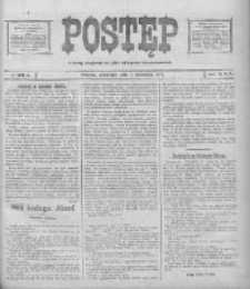 Postęp: narodowe pismo katolicko-ludowe niezależne pod każdym względem 1919.09.04 R.30 Nr203