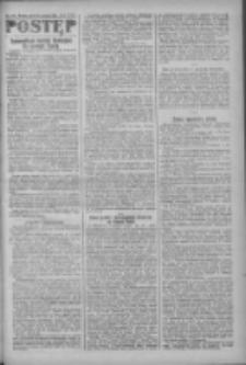 Postęp: narodowe pismo katolicko-ludowe niezależne pod każdym względem 1919.09.16 R.30 Nr213