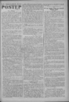 Postęp: narodowe pismo katolicko-ludowe niezależne pod każdym względem 1919.09.26 R.30 Nr222