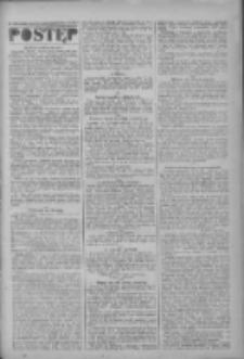 Postęp: narodowe pismo katolicko-ludowe niezależne pod każdym względem 1919.10.09 R.30 Nr233