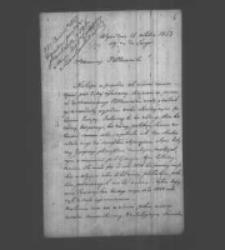 Ludwik Bralian do Władysława Zamoyskiego. Tanger 15 X 1853 r.