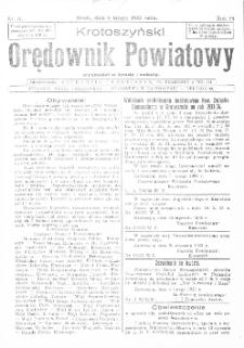 Krotoszyński Orędownik Powiatowy 1933.02.08 R.58 Nr11