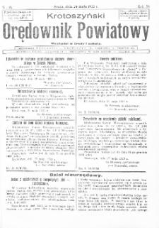 Krotoszyński Orędownik Powiatowy 1933.05.24 R.58 Nr40