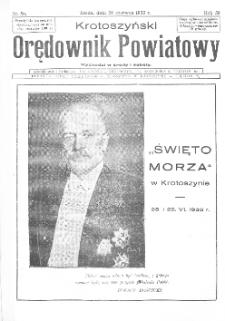 Krotoszyński Orędownik Powiatowy 1933.06.28 R.58 Nr50